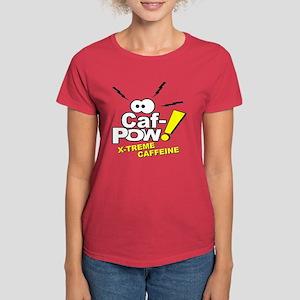 Caf-Pow of NCIS Fame Women's Dark T-Shirt