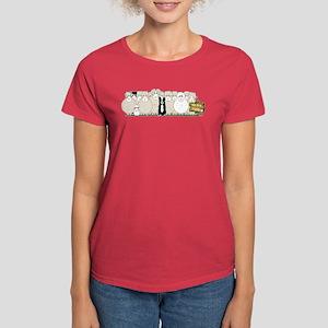 Sheep Family Women's Dark T-Shirt
