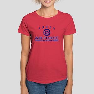 Proud Air Force Grandma Women's Dark T-Shirt
