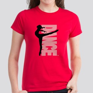 Beautiful Dance Figure Women's Dark T-Shirt