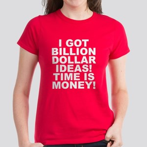Time Is Money Women's Dark T-Shirt