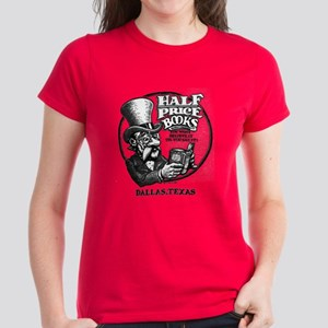 """Half Price Books"" Women's Dark T-Shirt"