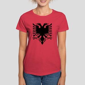 Albanian Eagle Women's Dark T-Shirt