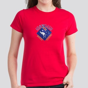 Australia Down Under Women's Dark T-Shirt