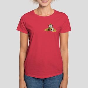 2-sided US Marine Corps Women's Dark T-Shirt