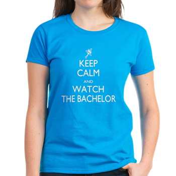 keep calm and watch the bachelor t shirt