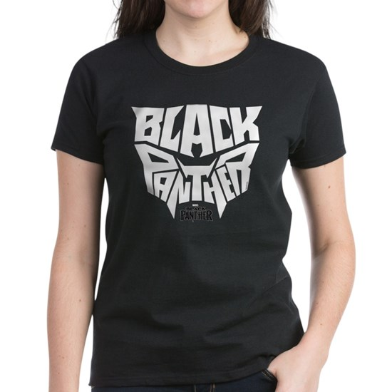 69af2bb0 Black Panther Logo Women's Classic T-Shirt by Marvel - CafePress