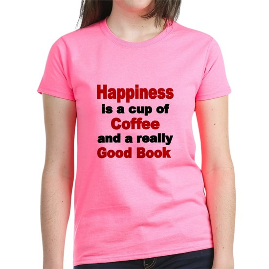 Happiness is a cup of Coffee and a really good bo