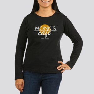 Monks Cafe Seinfeld Women's Long Sleeve Dark T-Shi