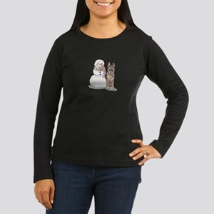 German Shepherd C Women's Long Sleeve Dark T-Shirt