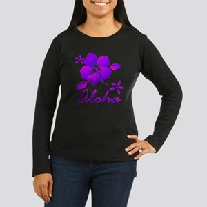 Aloha Purple Women's Long Sleeve T-Shirt