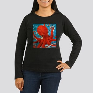 Octopus Painting Long Sleeve T-Shirt