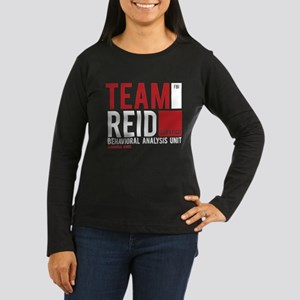 Team Reid Women's Long Sleeve Dark T-Shirt