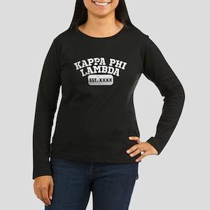 Kappa Phi Lambda Women's Long Sleeve Dark T-Shirt
