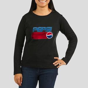 Pepsi Women's Long Sleeve Dark T-Shirt