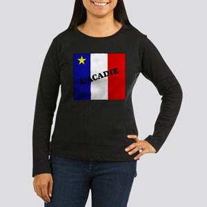 L'Acadie Women's Long Sleeve Dark T-Shirt