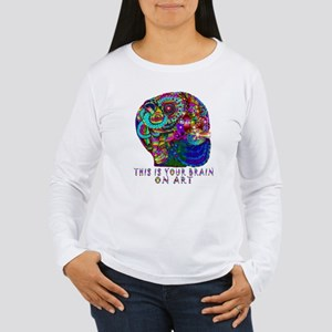 ART BRAIN Long Sleeve T-Shirt