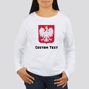 Poland Coat Of Arms Long Sleeve T-Shirt