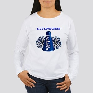 cheerleader personalize Long Sleeve T-Shirt
