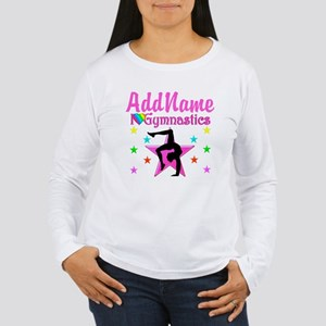 GYMNAST GIRL Women's Long Sleeve T-Shirt