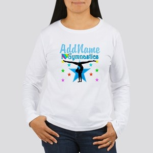 GYMNAST POWER Women's Long Sleeve T-Shirt