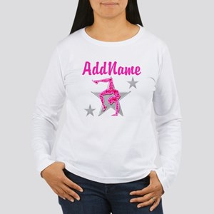 GORGEOUS GYMNAST Women's Long Sleeve T-Shirt