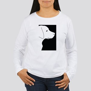 Black Lab Women's Long Sleeve T-Shirt