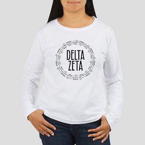 Delta Zeta Arrows Women's Long Sleeve T-Shirt