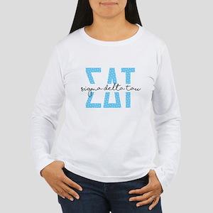 SDT Polka Dots Women's Long Sleeve T-Shirt