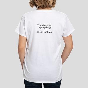 Women's V-Neck T-Shirt Agility