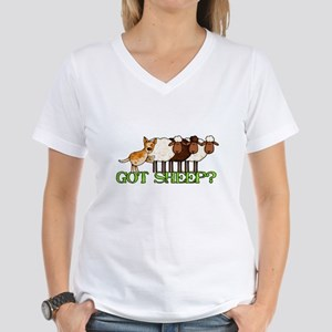 got sheep? Women's V-Neck T-Shirt