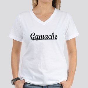 Gamache, Vintage Women's V-Neck T-Shirt