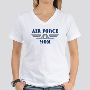Air Force Mom Women's V-Neck T-Shirt