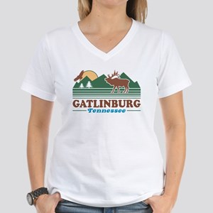 Gatlinburg Tennessee Women's V-Neck T-Shirt