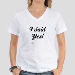 I said Yes Cap Sleeve T-Shirt