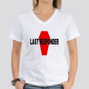 LAST RESPONDER Women's V-Neck T-Shirt