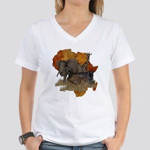 Safari Women's V-Neck T-Shirt