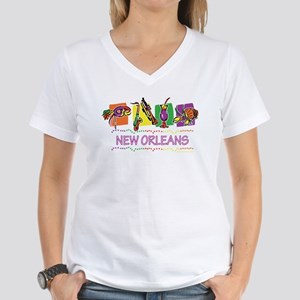 New Orleans Boxes Women's Dark T-Shirt
