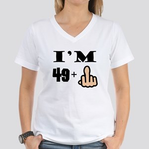 Middle Finger 50th Birthday T Shirt