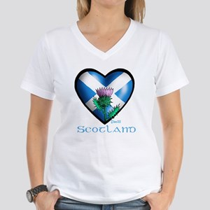 Heart and Thistle Women's V-Neck T-Shirt