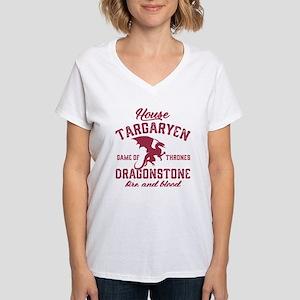 House Targaryen Women's V-Neck T-Shirt