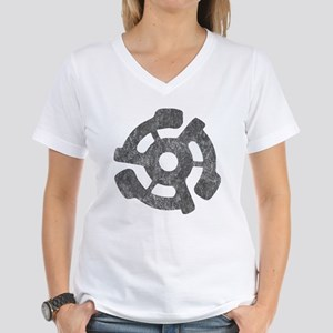 Vintage 45 RPM Women's V-Neck T-Shirt