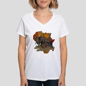 Safari Women's V-Neck T-Shirt