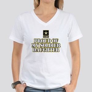 Soldier Daughter Women's V-Neck T-Shirt