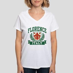 Florence Italy Women's V-Neck T-Shirt