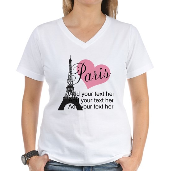 custom add text paris gifts