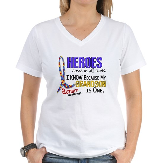 -Heroes All Sizes Grandson Autism