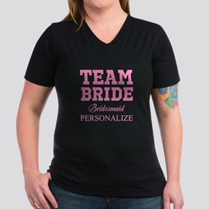 5c67acfe8 Team Bride | Personalized Wedding T-Shirt