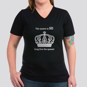 The queen is 50 long live the T-Shirt