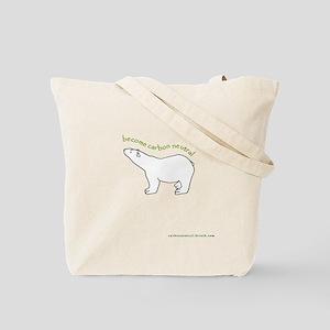 Polar Bear :: Carbon Neutral Reusable Tote Bag